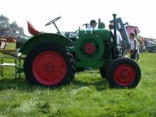 un trattore