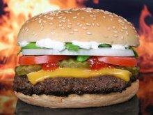 un hamburger