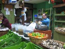 uno dei gestori del farmer's market di Bari