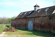 una visuale di una fattoria antica