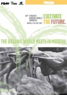 Locandina del congresso mondiale sul biologico