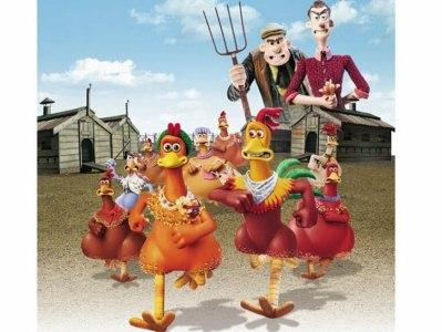 locandina del film galline in fuga