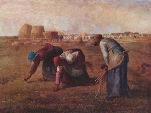 millet, le spigolatrici