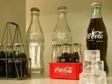bottiglie di coca cola