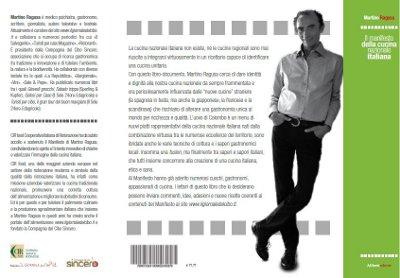 quarta di copertina del Manifesto della Cucina Nazionale Italiana