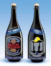 bottiglie di nastro azzurro limited edition