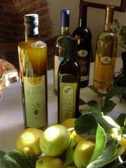 bottiglie di olio extravergine