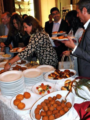 street food palermitano in tavola