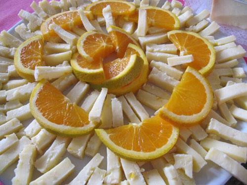 arance e formaggio