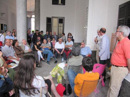 Martino, Patrizio e il pubblico