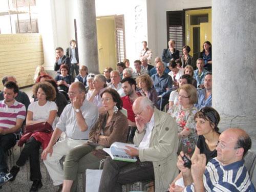 il pubblico della presentazione