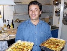 Nino e le lasagne al pesto