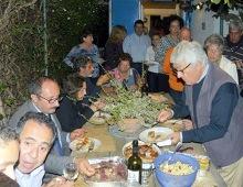 i soci a tavola