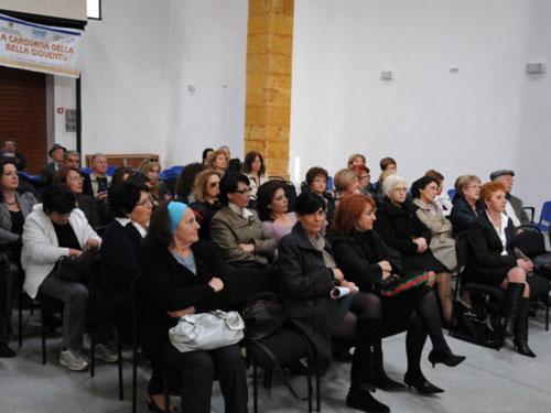 il pubblico alla presentazione