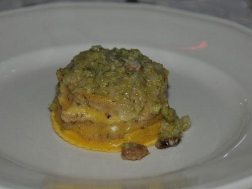 Lasagnetta di pasta fresca al battuto di cavolfiori stile Paolina