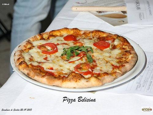 la pizza belicina creata da Mario Bellafiore