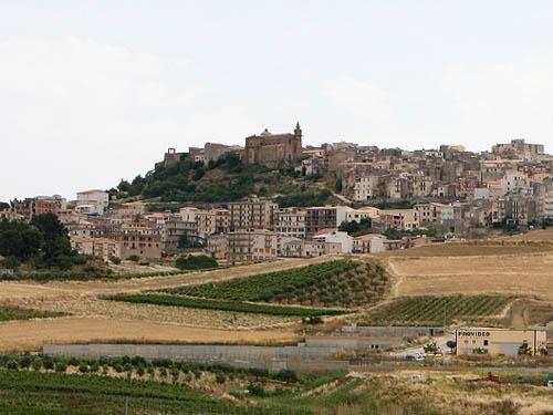 veduta di Sambuca di Sicilia