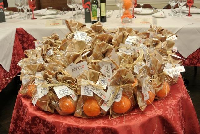 bomboniere di arance di ribera