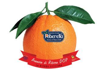 Arancia di Ribera DOP con marchio