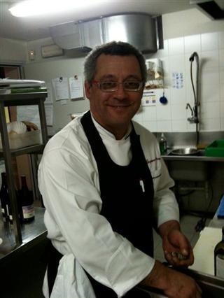 chef Gaspare Patrone