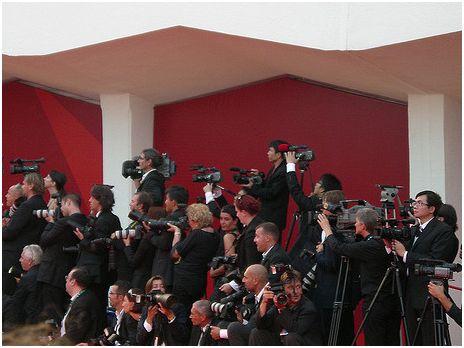 fotografi al festival di venezia