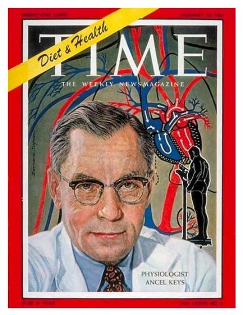 ancel keys in copertina sul Time