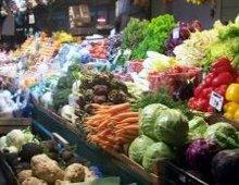 banco della verdure