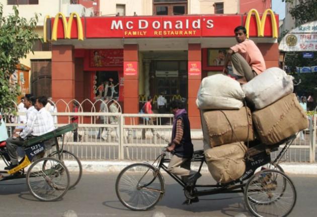 un ristorante mc donalds in india
