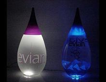 bottiglie di evian