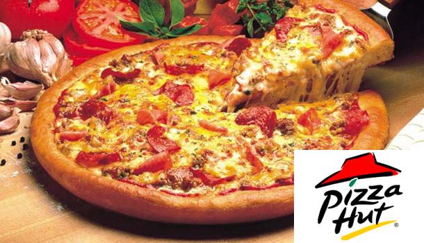 pubblicità di pizza hut