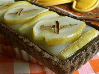torta pere e cioccolato, di pungenti