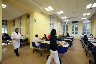 mensa dell'ospedale