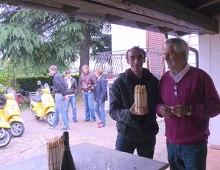 Martino e Pietro con gli asparagi bianchi