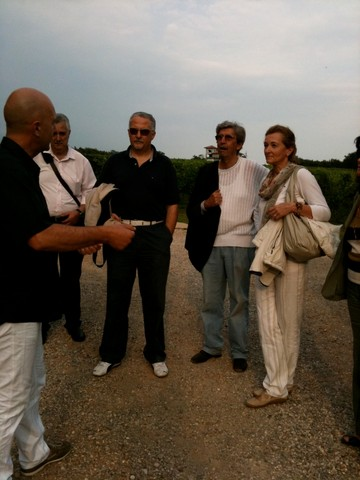 ospiti durante l'incontro