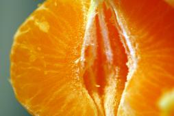 Spicchi di arancia