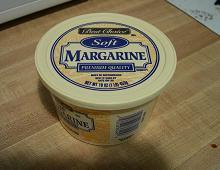 confezione di margarina