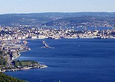 panorama di Trieste