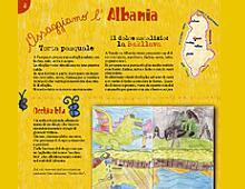 """pagina sull'albania di """"assaggiamo il mondo"""""""