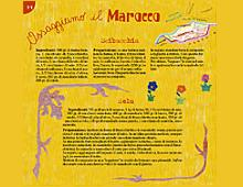 """pagina sul marocco di """"assaggiamo il mondo"""""""