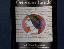 etichetta del vino Ortensio Lando