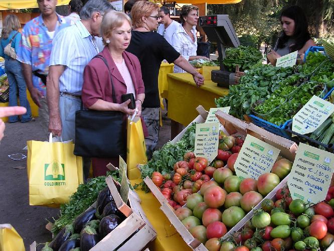al mercato, prezzi al consumo