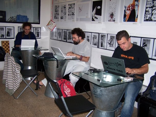 social networker al lavoro