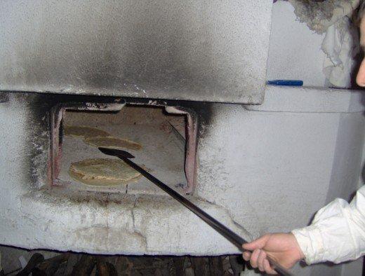 un altro passaggio nel forno per il pane