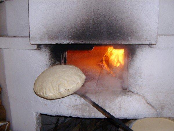 il pane infornato