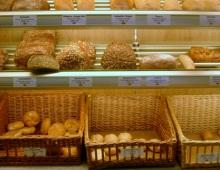banco del pane in un forno altoatesino
