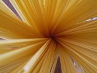 raggera di spaghetti crudi