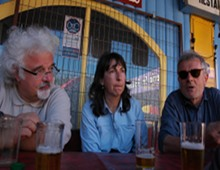 Patrizio, Mariella e il Prof. Rudi Costa
