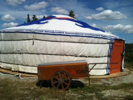 yurta all'orto dei giusti