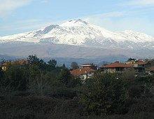 paesaggio dell'etna