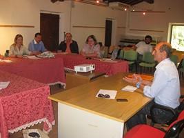 partecipanti durante il master